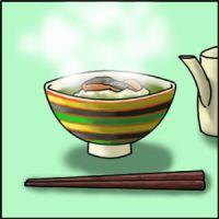 茶碗は永谷園のファミレスで買いました