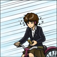 自転車も車両です